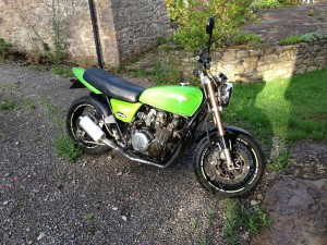 Kawasaki KZ650 Arrives