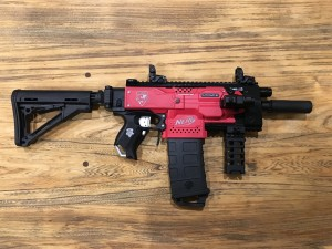 Nerf Stryfe Tacticool with Stock