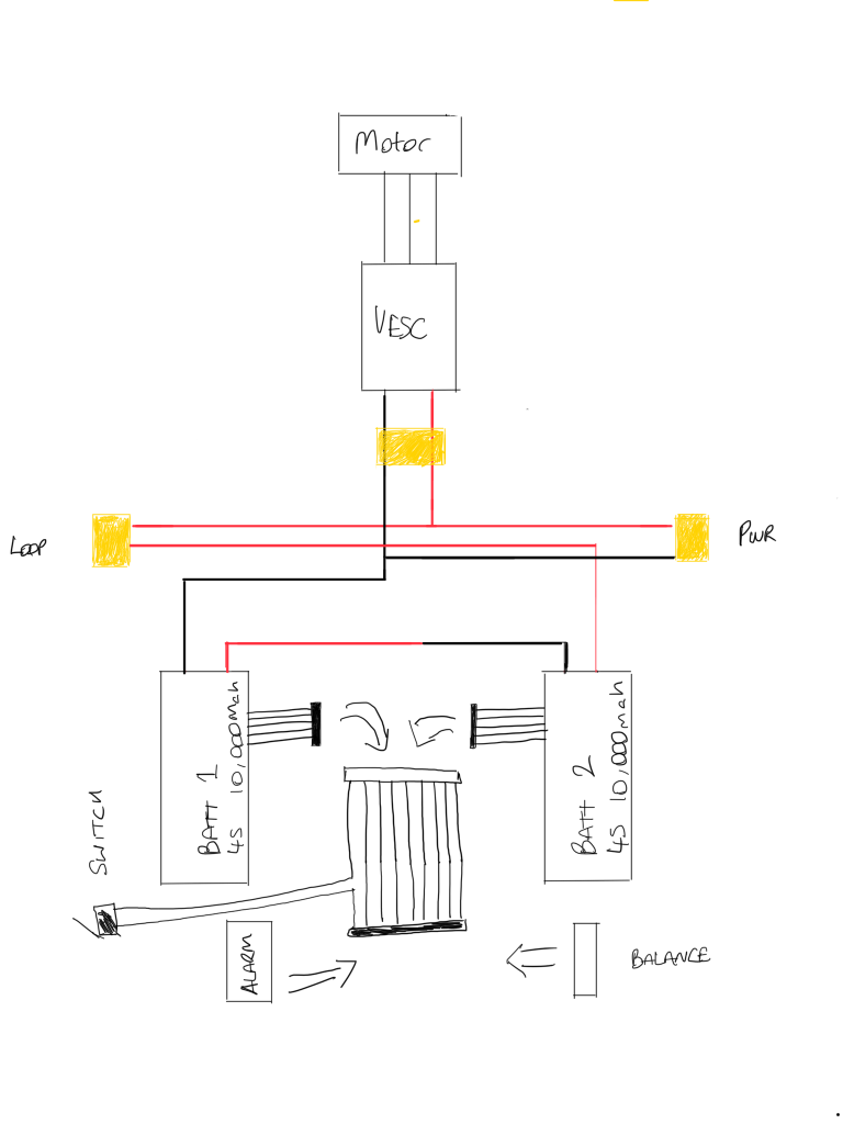 wiring diagram electric skateboard