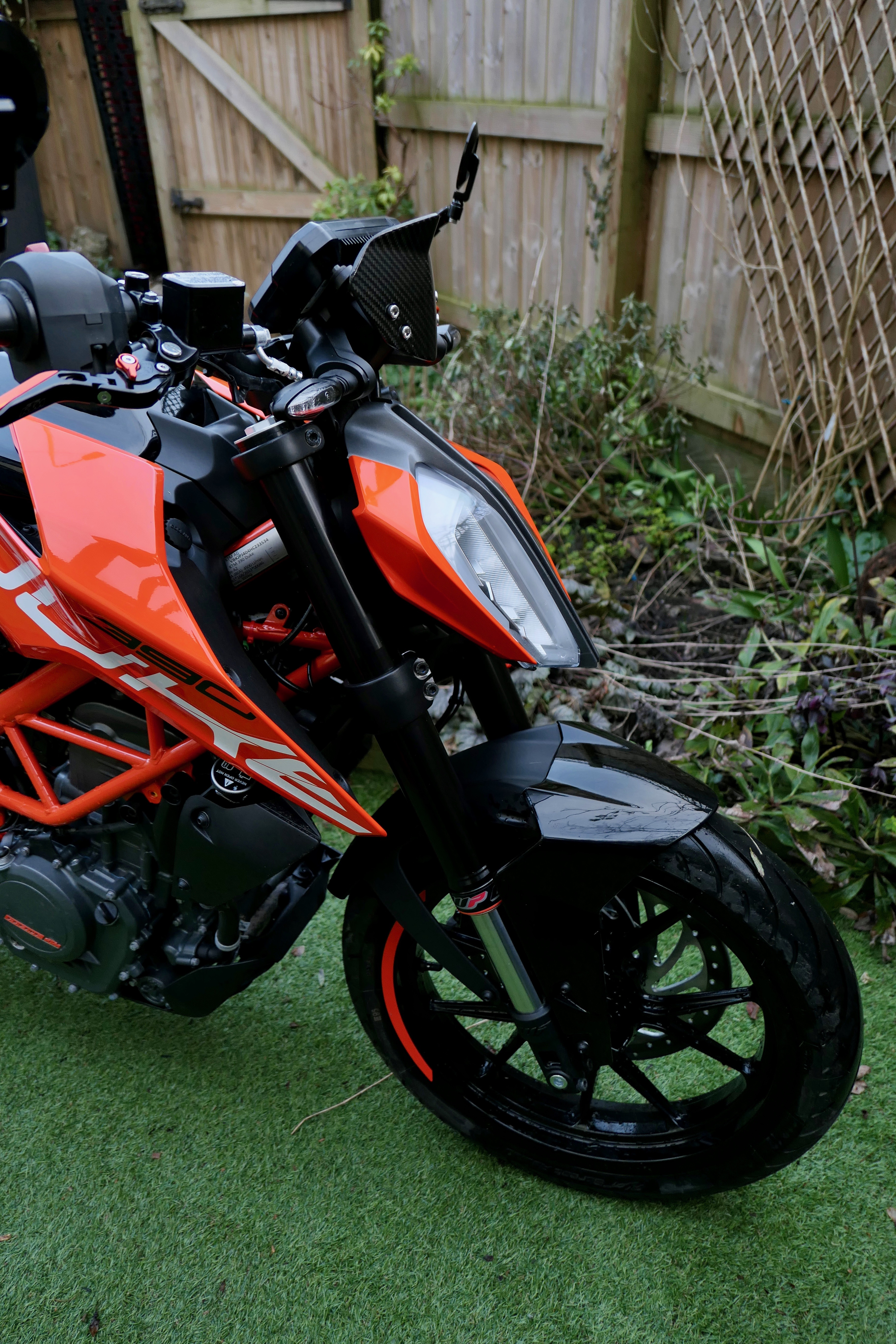 Ktm Duke 390 2017 With Black Wheels Gordyhand Co Uk
