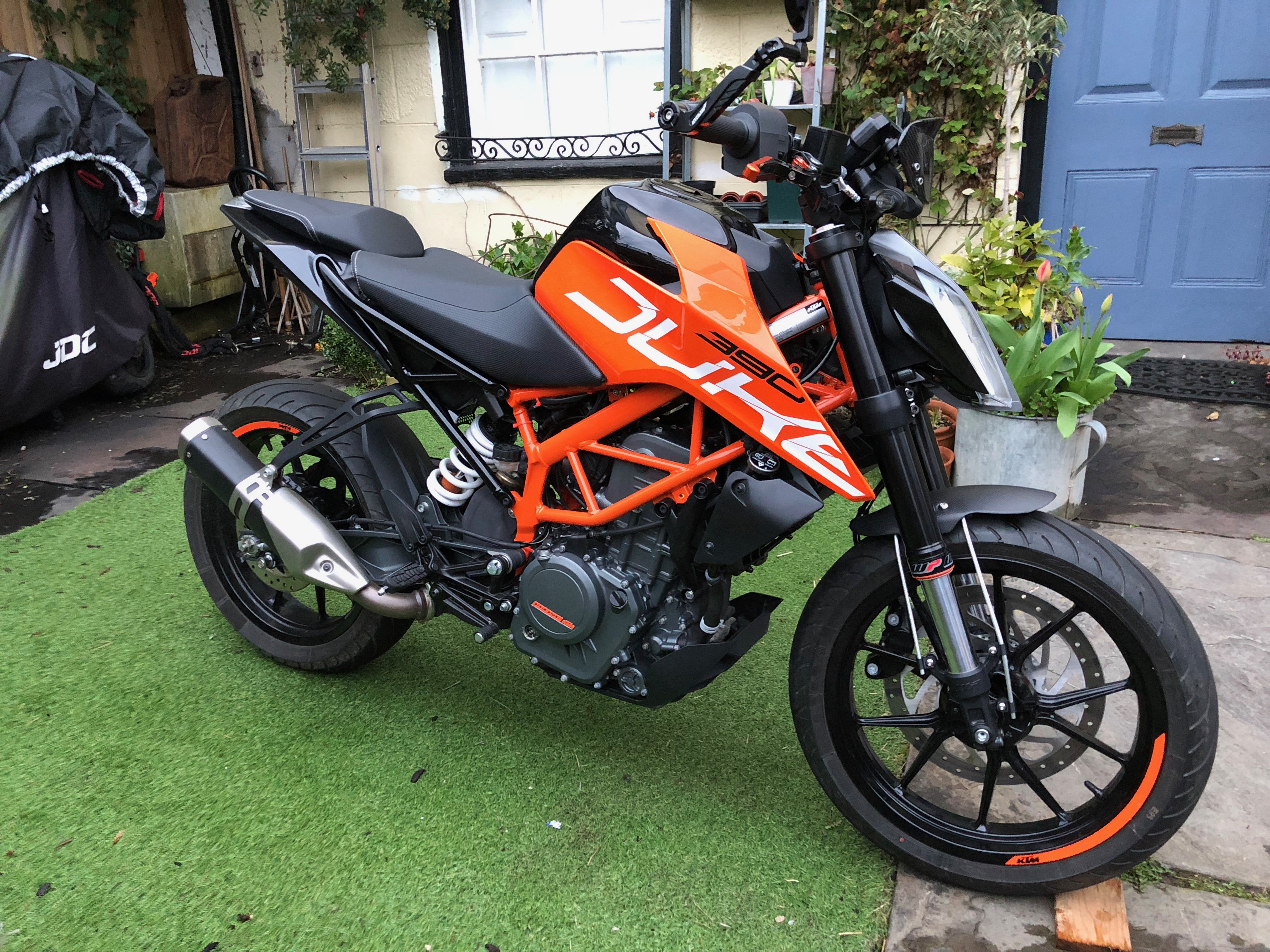Ktm 390 Duke 2017 Black Out Gordyhand Co Uk